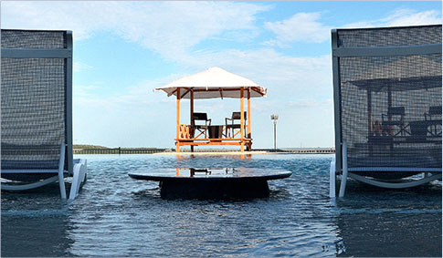 premium amenities background image